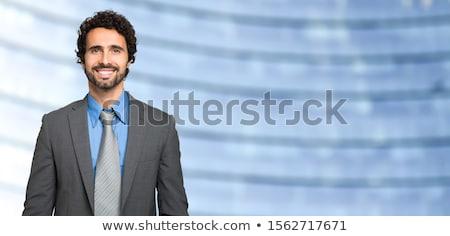 Foto stock: Hispanos · empresario · tiro · retrato · empresarial · profesional