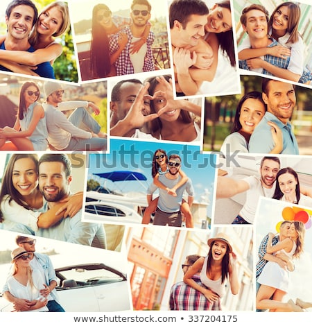Collage of a couple in love stock photo © photography33