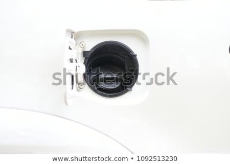 Combustível tanque cobrir para cima tiro esportes Foto stock © kitch