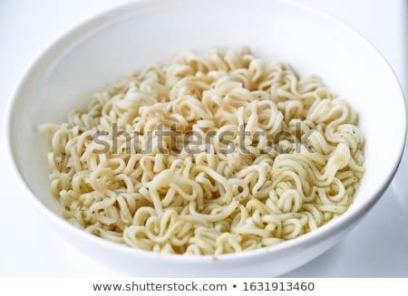 makarna · yalıtılmış · fincan · beyaz · gıda - stok fotoğraf © cozyta
