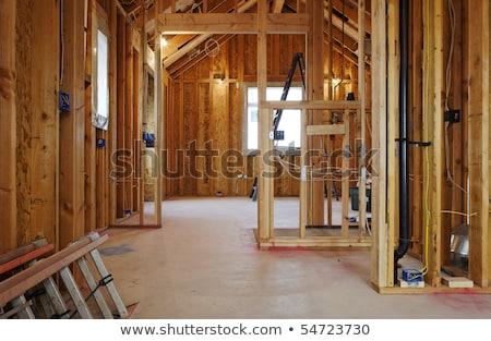 Shot of unfinished house Stock photo © photography33
