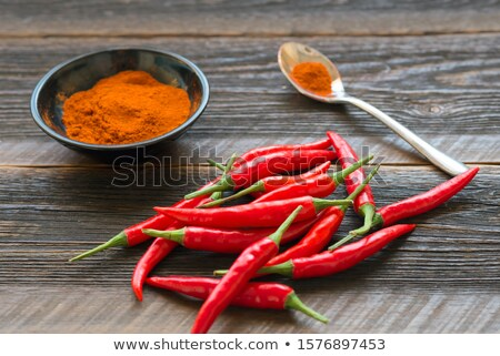 fresh cayenne Stock photo © taviphoto