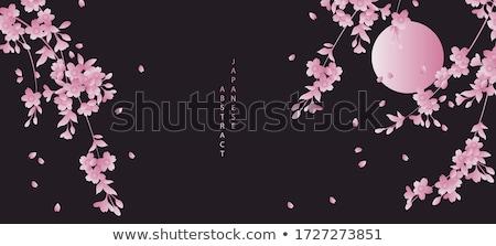 cseresznyevirágzás · égbolt · húsvét · tavasz · levél · kert - stock fotó © carodi
