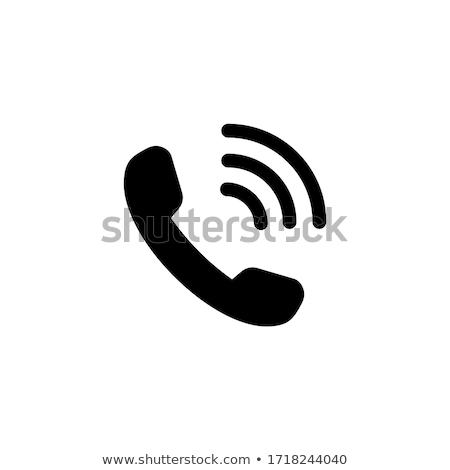 telefone · feminino · mãos · enforcamento · vintage · negócio - foto stock © kitch