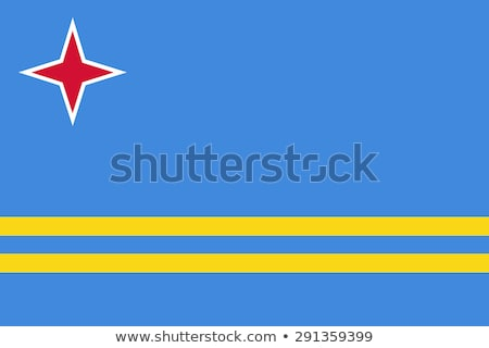 Flag Aruba Stock photo © Ustofre9