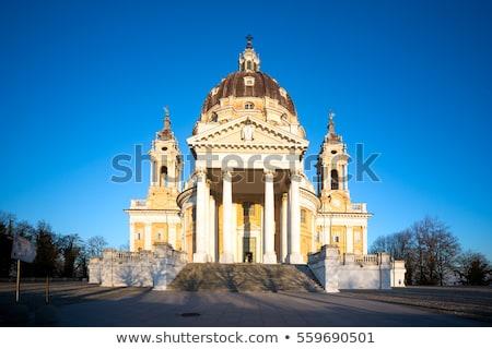 Kathedraal torino Italië stad stedelijke retro Stockfoto © Spectral