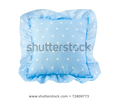 nice blue pillow for kids great for there bedtime Stock photo © JohnKasawa