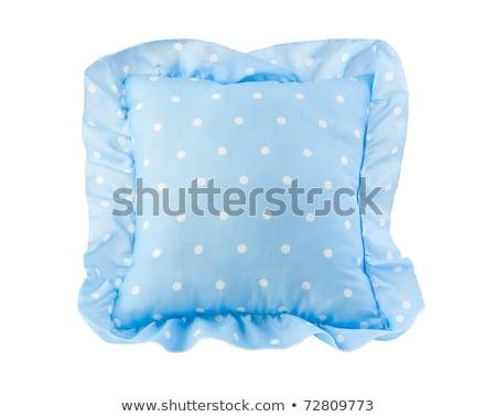 Nice · синий · подушкой · дети · девушки - Сток-фото © JohnKasawa