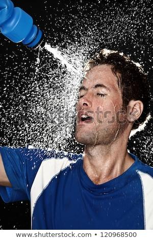 スポーツ フィットネス 男 小さな アスレチック 冷却 ストックフォト © HASLOO