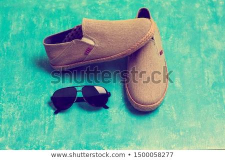 fashion man  flipping you off Stock photo © feedough