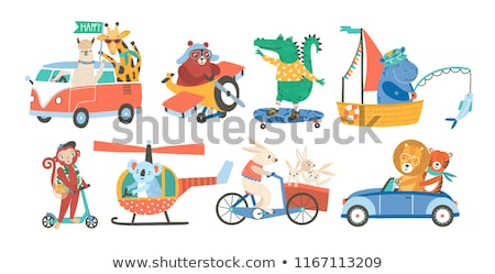 Sailing cars Stock photo © c-foto
