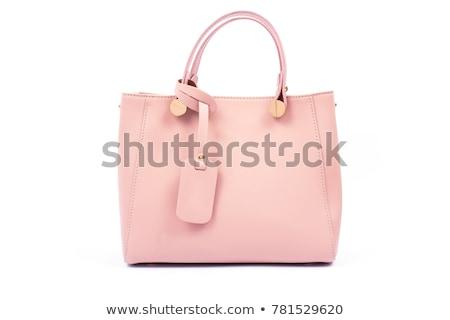 Lady summer holiday hand bag Stock photo © arlatis