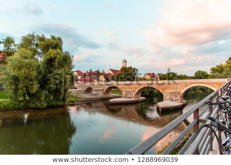 Regensburg panorama Stock photo © joyr