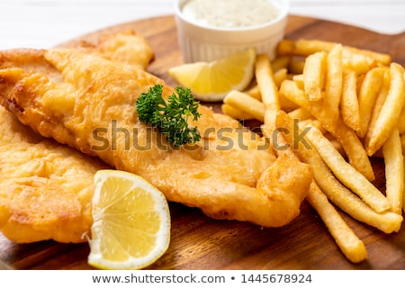 fried fish in a batter stock photo © yelenayemchuk