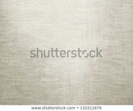 macro off white flax cloth stock photo © juniart