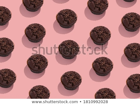 Lots of chocolate brownie Stock photo © marimorena
