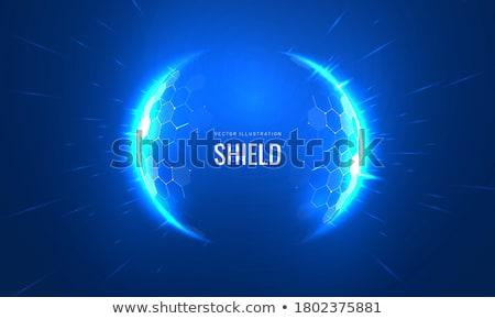 Kék gömb absztrakt víz tenger grafikus Stock fotó © guffoto