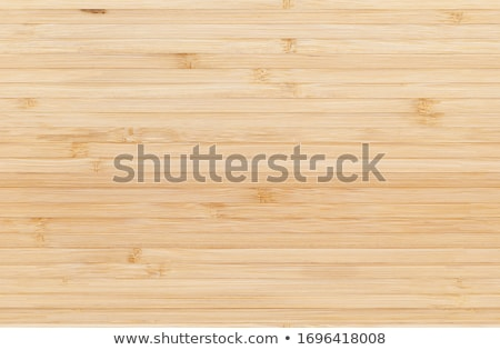 Stock photo: Seamless bamboo striped floor background.