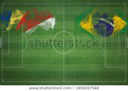 Brazil and Seychelles Flags Stock photo © Istanbul2009