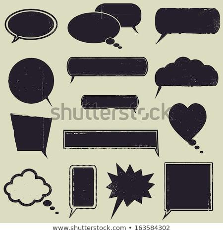 rechthoek · boodschapper · witte · papier · grijs - stockfoto © beholdereye