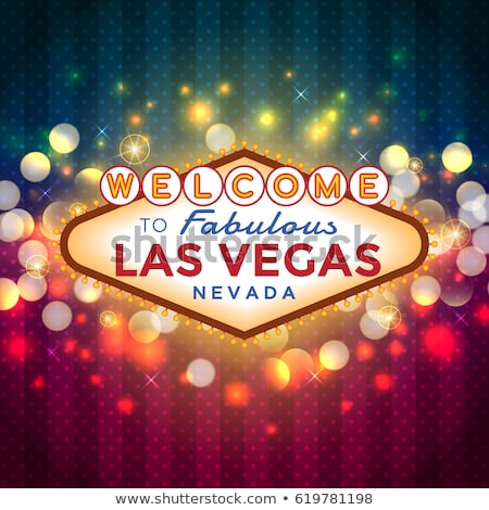 Las Vegas verão caminho gramado panorama ver Foto stock © ersler