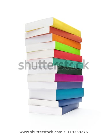 Paper Back Book Cutout Stock photo © Suljo