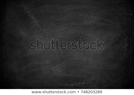 Krijt boord kinderen hand witte Stockfoto © IvicaNS