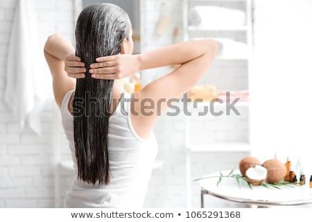 Hair treatment Stock photo © pressmaster