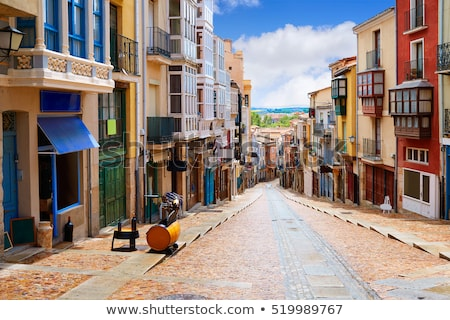Zamora street Balboraz in Spain Via de la Plata  Stock photo © lunamarina
