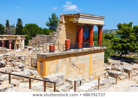 palace ruins of knossos stock photo © ssuaphoto