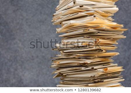 belangrijk · mappen · catalogus · gekleurd · document - stockfoto © anatolym