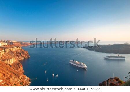 Summer landscape overlooking the sea coast Stock photo © Kotenko