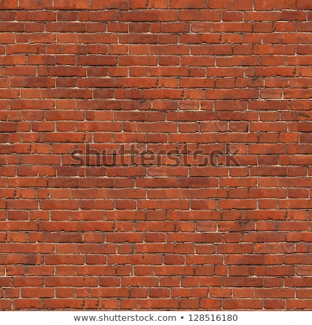 Stock photo: Brown Rough Brick Wall. Seamless Tileable Texture.