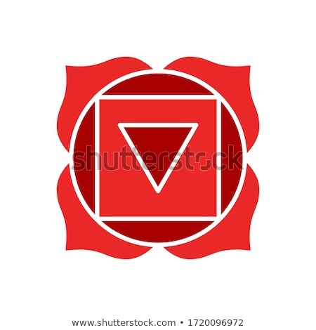 Manipura chakra with outer space Stock photo © Sonya_illustrations