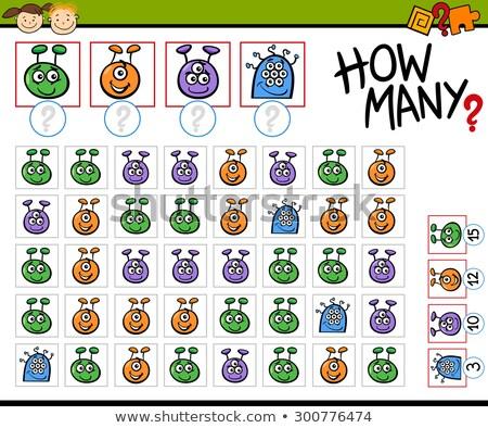 desenho · animado · educação · jogo · crianças · comida - foto stock © natali_brill