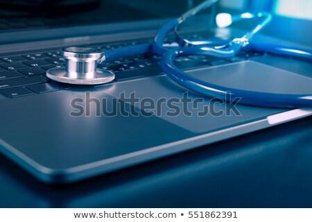 Healthcare Concept Shield and Stethoscope Stock photo © Krisdog