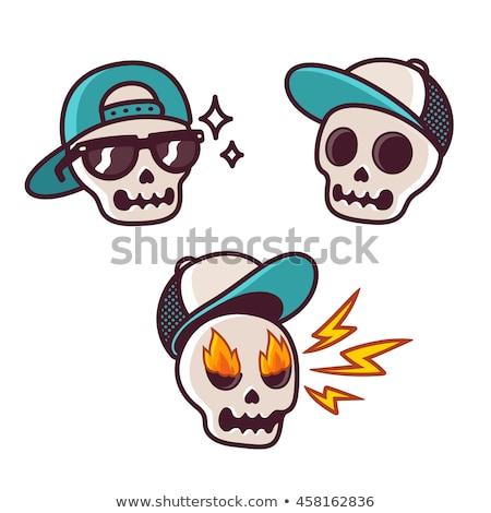 Baseball cap cartoon style isolated. Vector illustration Stock photo © popaukropa