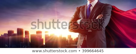 schaduw · zakenman · illustratie · zakenman - stockfoto © krisdog
