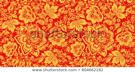 altın · meyve · çiçek · siluet · renk · doku - stok fotoğraf © mcherevan