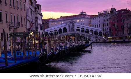Canal Venise pier Italie maison Photo stock © Givaga