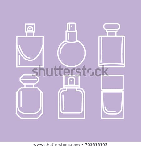 Vetor moderno perfume ícones isolado branco Foto stock © dashadima
