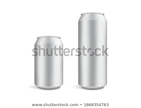 vector blank beer bottle mockup stock photo © trikona