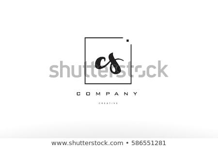 黒 小 手紙 ロゴ アイコン にログイン ストックフォト © blaskorizov