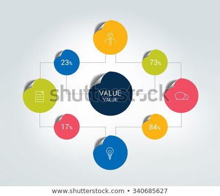 Flowcharts Structures, Organisation of Visual Data Stock photo © robuart