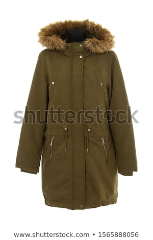 Chaud veste isolé hiver blanche hommes Photo stock © cookelma