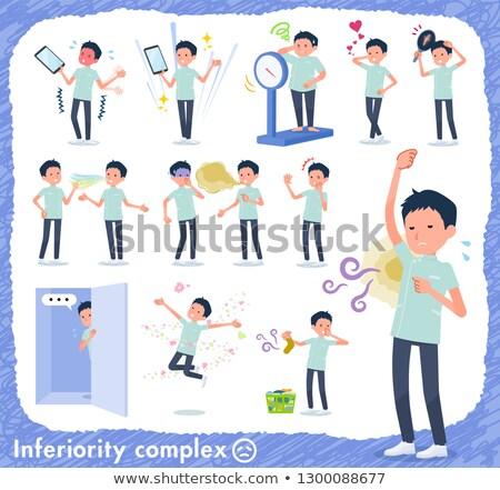 chiropractor men_complex Stock photo © toyotoyo