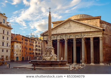 View of Pantheon basilica Foto stock © hsfelix