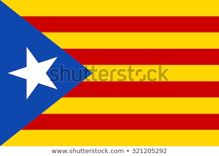 Catalonia flag Stock photo © grafvision