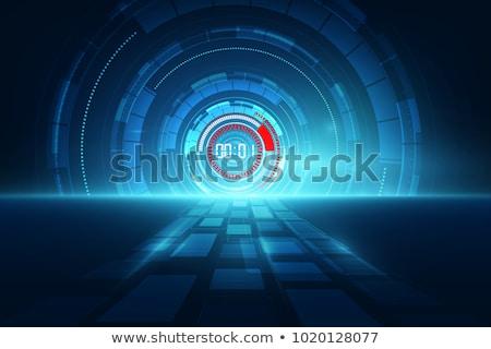 クロック 時間 抽象的な デザイン グループ オブジェクト ストックフォト © Lightsource
