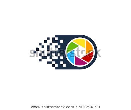 Web fotocamera moderno digitale gadget colore Foto d'archivio © pikepicture